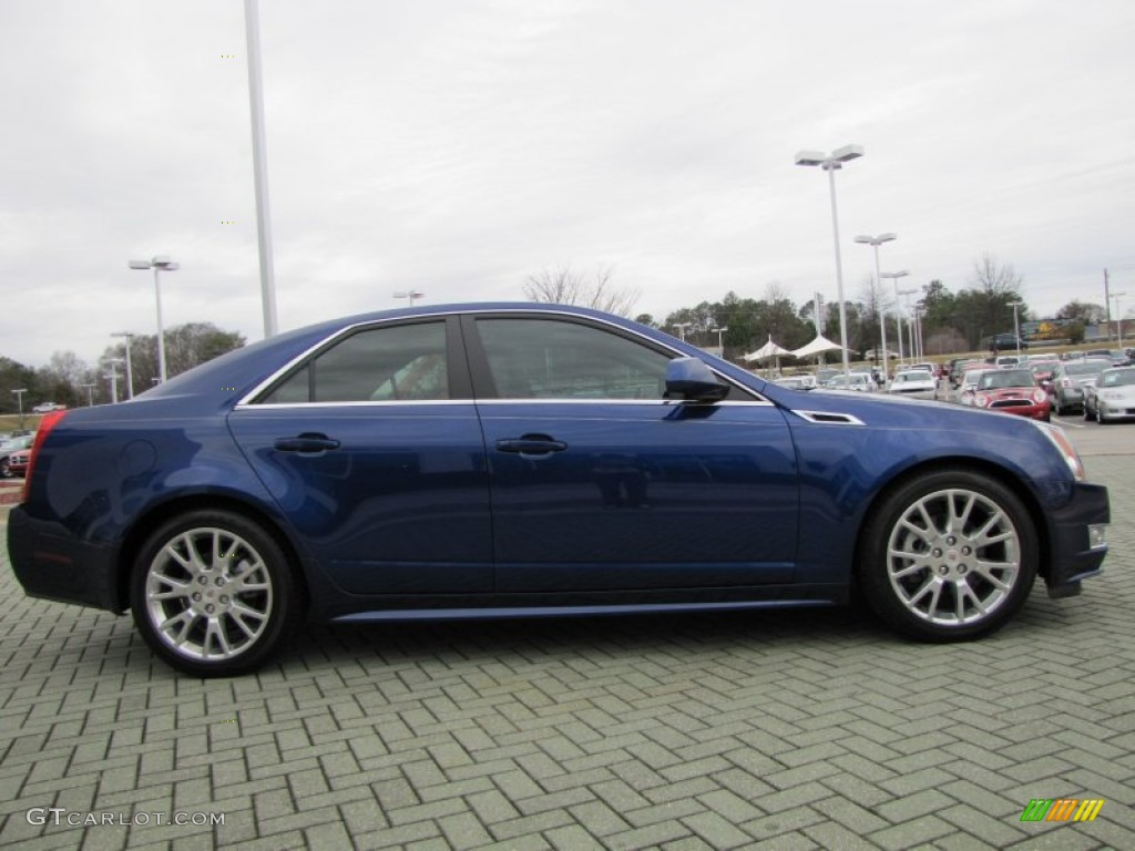 opulent blue metallic 2012 cadillac cts 3 6 sedan exterior photo 77653421. Black Bedroom Furniture Sets. Home Design Ideas
