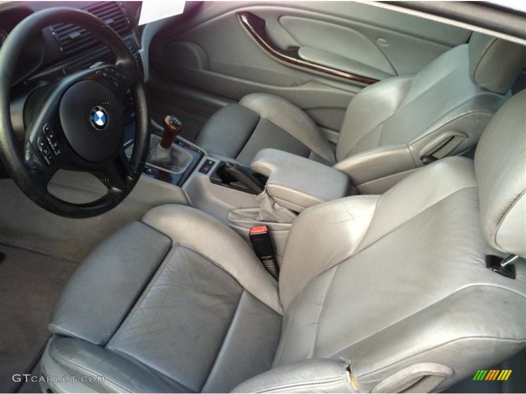 2002 BMW 3 Series 330i Coupe Interior Color Photos