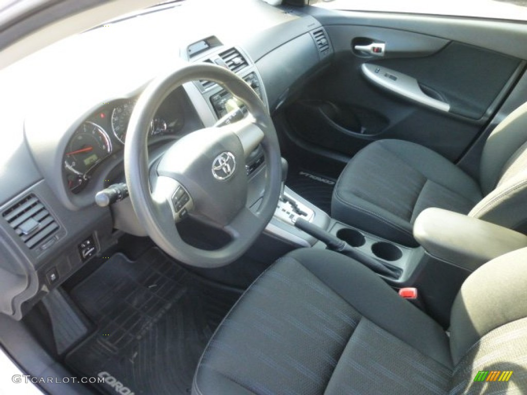 2012 Toyota Corolla S Interior Color Photos