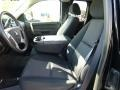 Ebony Front Seat Photo for 2011 Chevrolet Silverado 1500 #77659815