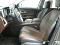 Brownstone/Jet Black 2011 Chevrolet Equinox Interiors