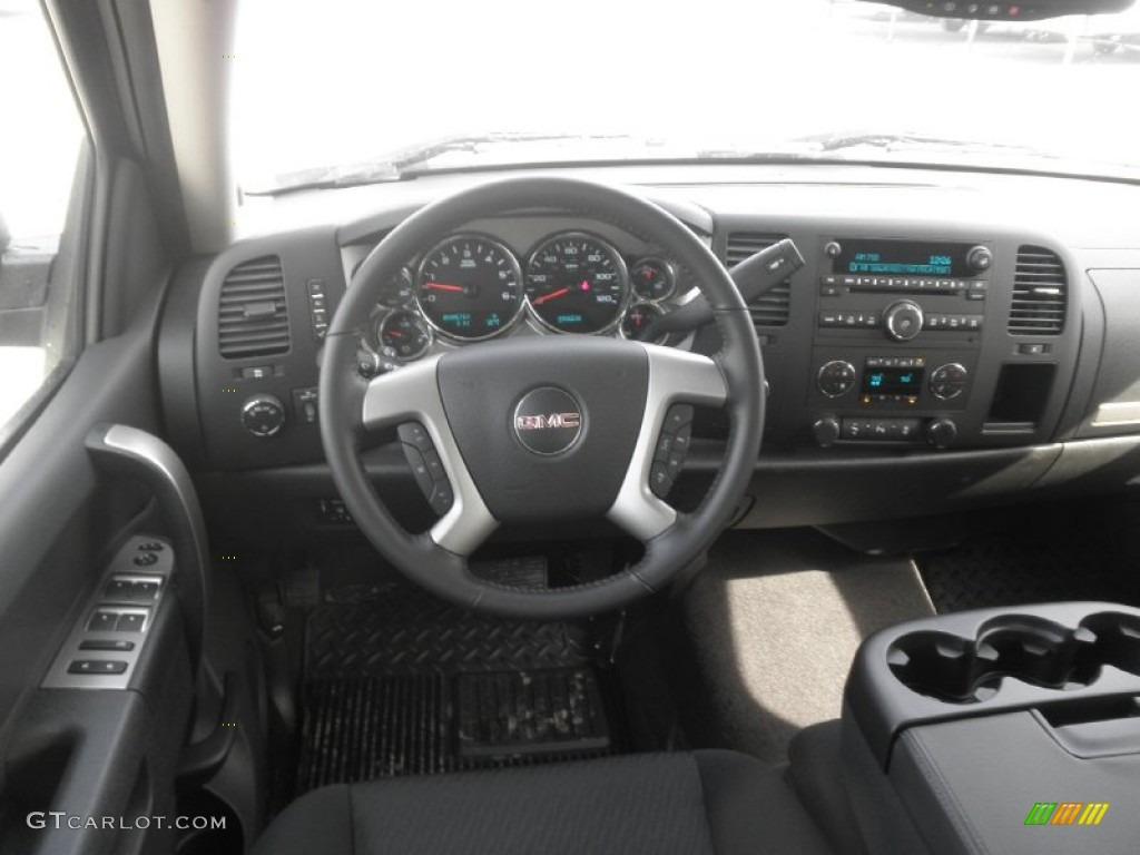 2011 Gmc Denali >> 2013 GMC Sierra 1500 SLE Crew Cab 4x4 Ebony Dashboard
