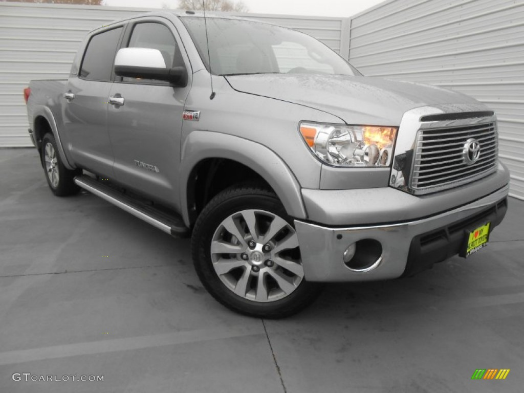 2011 Tundra Limited CrewMax 4x4 - Silver Sky Metallic / Graphite Gray photo #1