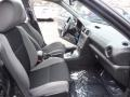 2007 Subaru Impreza Anthracite Black Interior Front Seat Photo