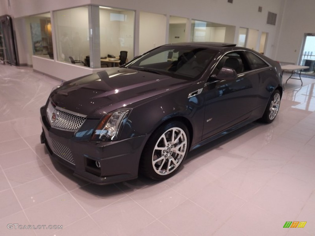 2013 thunder gray chromaflair cadillac cts v coupe 77635315 car color galleries. Black Bedroom Furniture Sets. Home Design Ideas