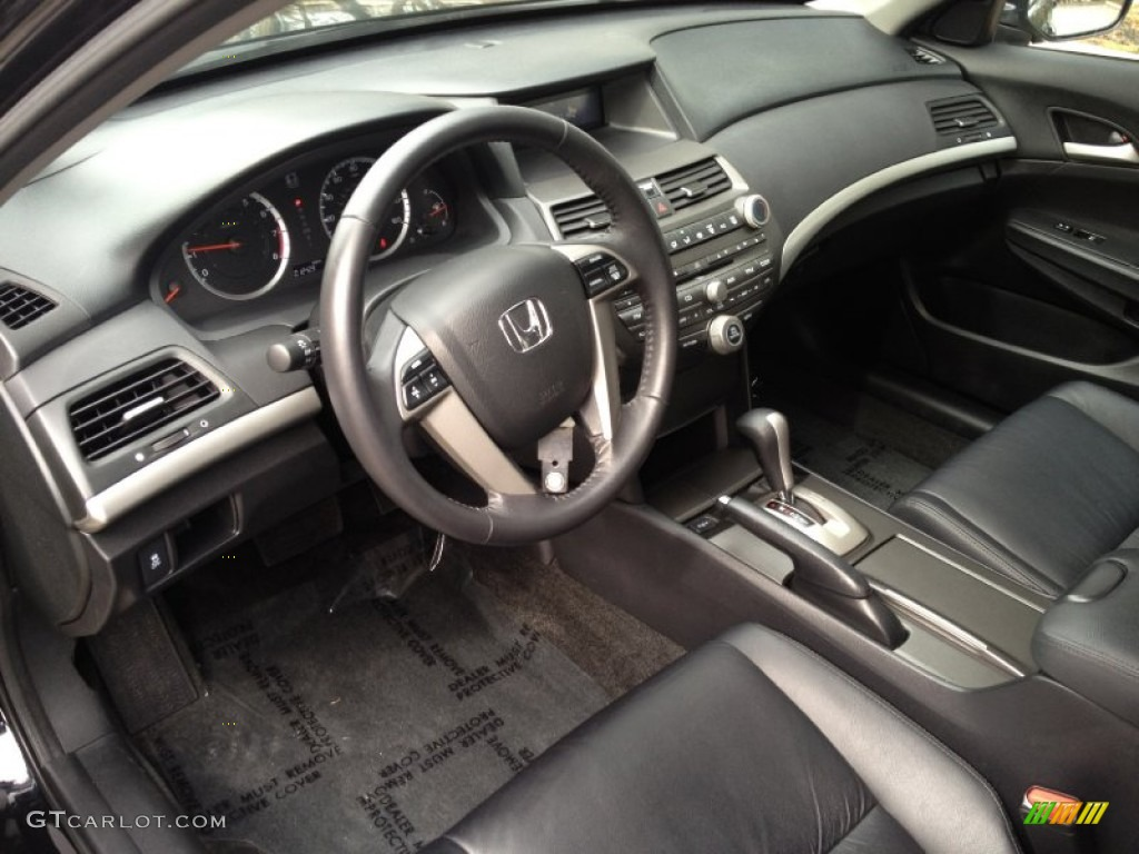 Black Interior 2012 Honda Accord SE Sedan Photo #77675811 ... Honda Accord 2012 Coupe Interior
