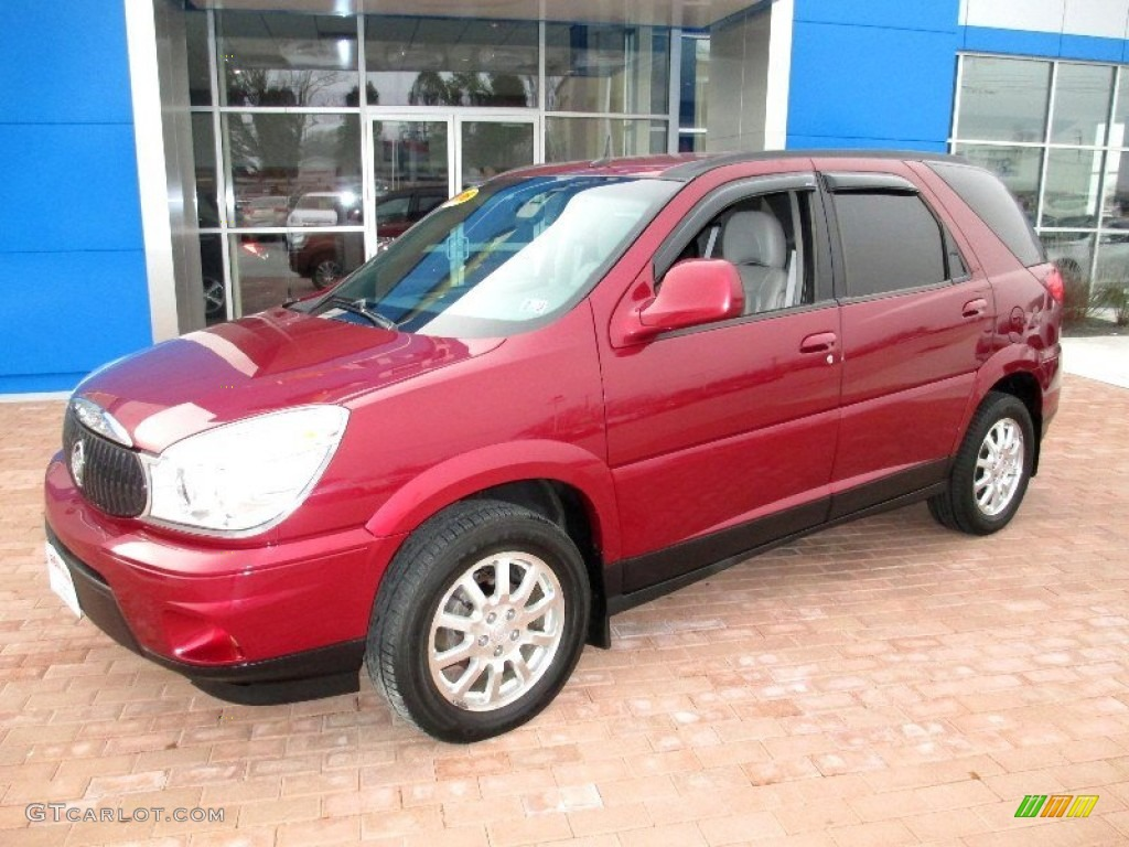 cardinal red metallic 2006 buick rendezvous cxl exterior photo 77676440 gt. Cars Review. Best American Auto & Cars Review