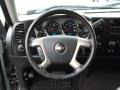 Ebony Steering Wheel Photo for 2008 Chevrolet Silverado 1500 #77677357