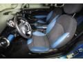 Black/Pacific Blue Interior Photo for 2009 Mini Cooper #77678979