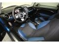 Black/Pacific Blue Front Seat Photo for 2009 Mini Cooper #77679123