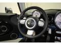 Black/Pacific Blue Steering Wheel Photo for 2009 Mini Cooper #77679354
