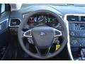 Charcoal Black Steering Wheel Photo for 2013 Ford Fusion #77684469