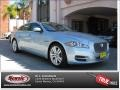 2012 Crystal Blue Metallic Jaguar XJ XJL Portfolio #77675093