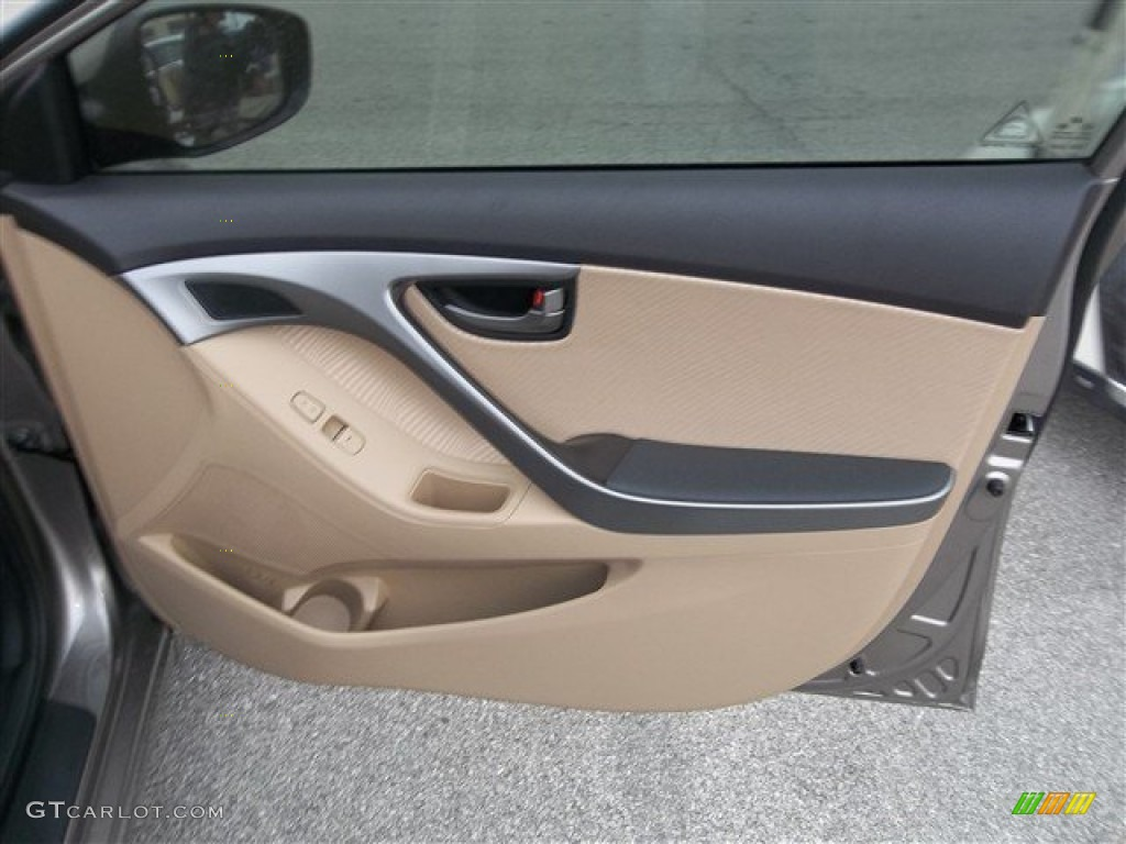 2013 Hyundai Elantra Gls Door Panel Photos Gtcarlot Com