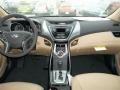 Beige Dashboard Photo for 2013 Hyundai Elantra #77689836
