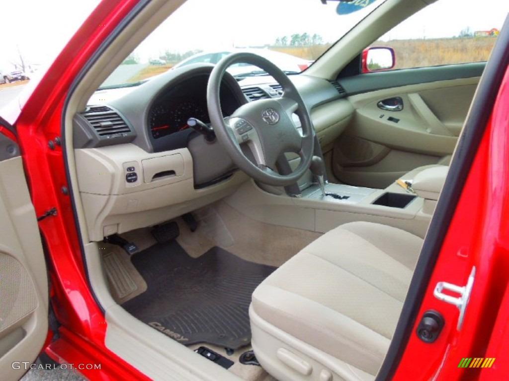Bisque Interior 2007 Toyota Camry Le Photo 77690912