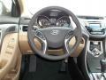 Beige Steering Wheel Photo for 2013 Hyundai Elantra #77694452