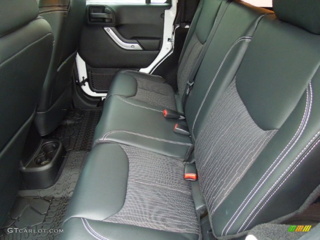 Freedom Edition Black Silver Interior 2013 Jeep Wrangler Unlimited Oscar Mike Freedom Edition