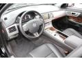 Warm Charcoal 2010 Jaguar XF Interiors