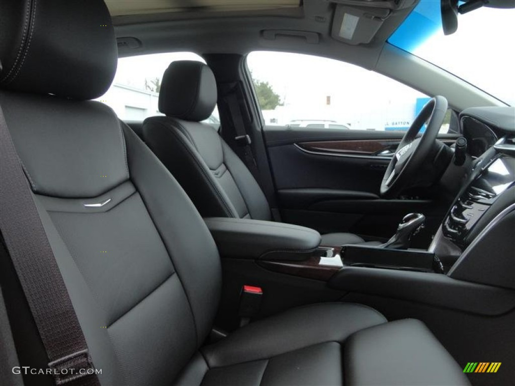 jet black interior 2013 cadillac xts luxury fwd photo 77707587. Black Bedroom Furniture Sets. Home Design Ideas