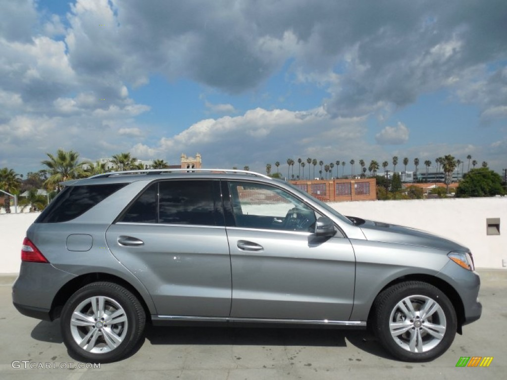 Palladium silver metallic 2013 mercedes benz ml 350 4matic for Mercedes benz 350 ml 2013