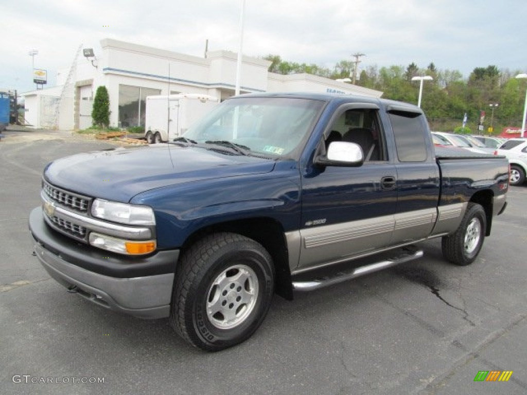 indigo blue metallic 2001 chevrolet silverado 1500 z71 extended cab. Cars Review. Best American Auto & Cars Review