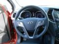 Black Steering Wheel Photo for 2013 Hyundai Santa Fe #77715870