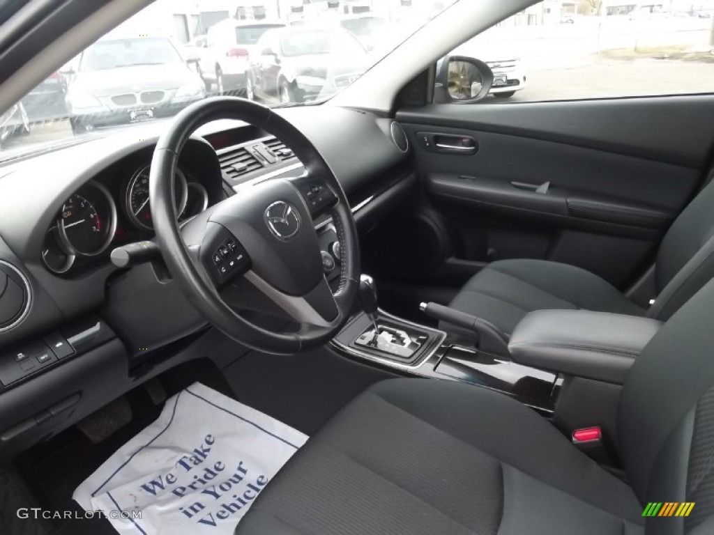 Black Interior 2012 Mazda Mazda6 I Touring Sedan Photo 77716929