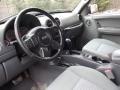 Medium Slate Gray 2005 Jeep Liberty Interiors