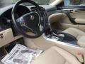 Parchment 2008 Acura TL 3.2 Interior