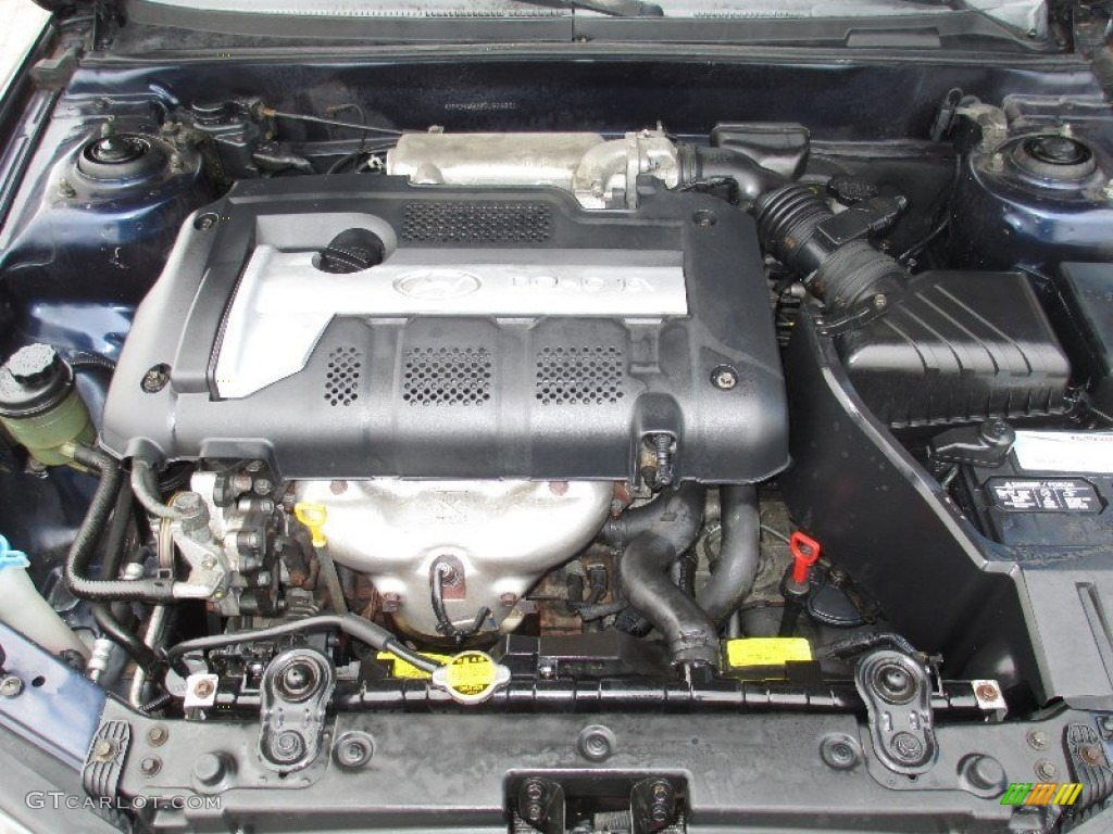 2005 Hyundai Elantra Gls Sedan Engine Photos