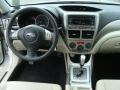 2010 Subaru Impreza Ivory Interior Dashboard Photo