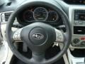 2010 Subaru Impreza Ivory Interior Steering Wheel Photo