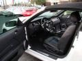 2013 Ford Mustang Charcoal Black/Grabber Blue Accent Interior Interior Photo