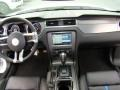 2013 Ford Mustang Charcoal Black/Grabber Blue Accent Interior Dashboard Photo