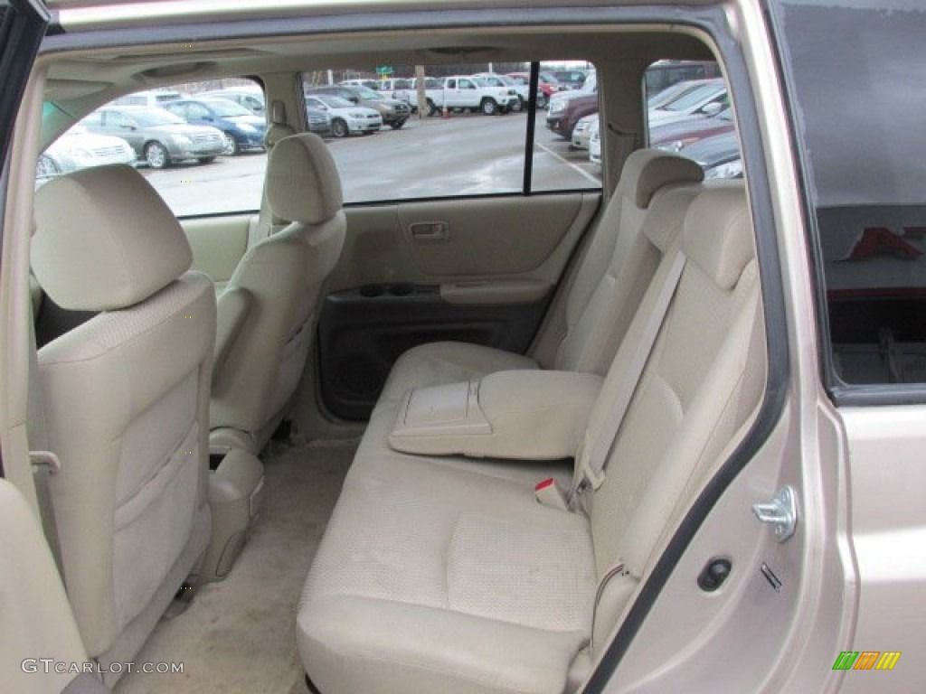 2005 Toyota Highlander V6 4wd Interior Color Photos
