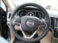New Zealand Black/Light Frost Steering Wheel Photo for 2014 Jeep Grand Cherokee #77753046