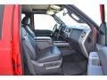 2012 Vermillion Red Ford F250 Super Duty Lariat Crew Cab 4x4  photo #10