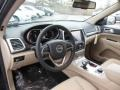 New Zealand Black/Light Frost Prime Interior Photo for 2014 Jeep Grand Cherokee #77753572