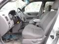 Medium Graphite 2002 Ford Escape Interiors