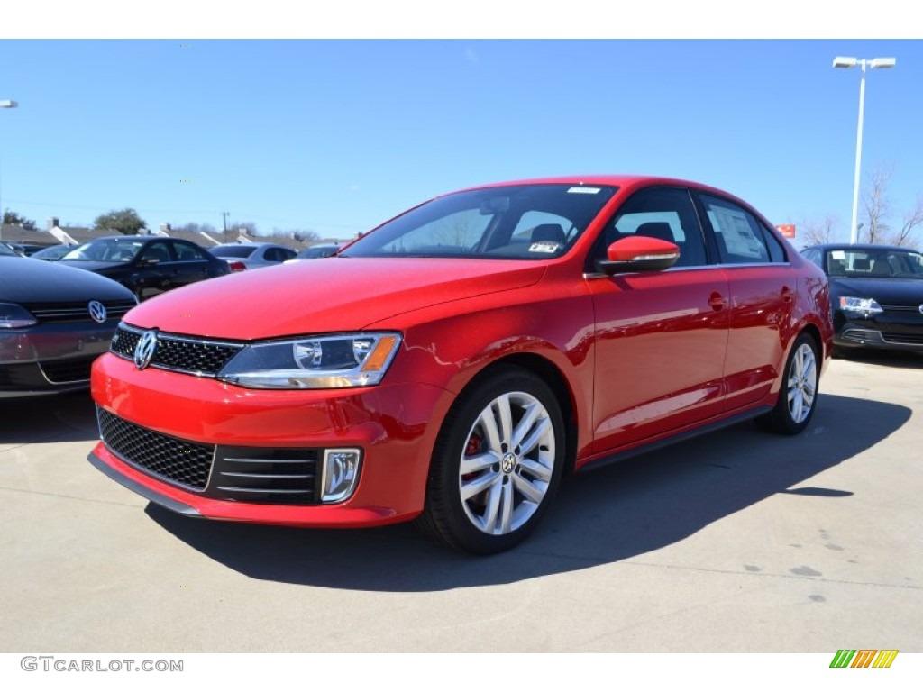 Volkswagen Jetta 2013 Red