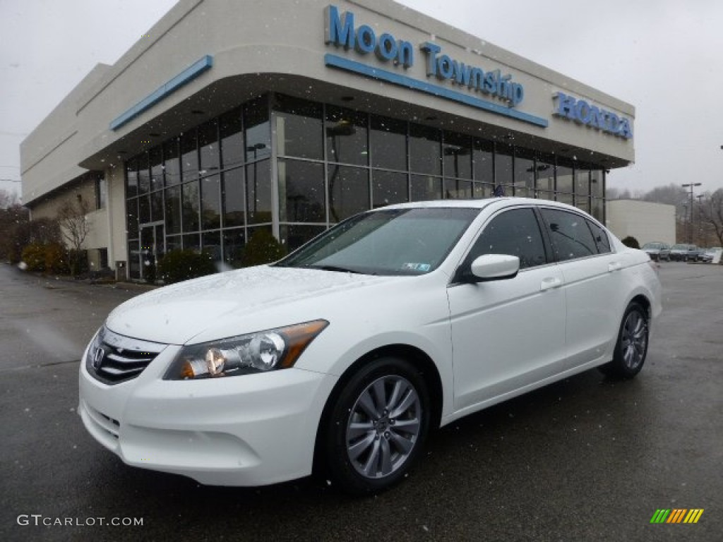 2011 Taffeta White Honda Accord Ex L Sedan 77761728