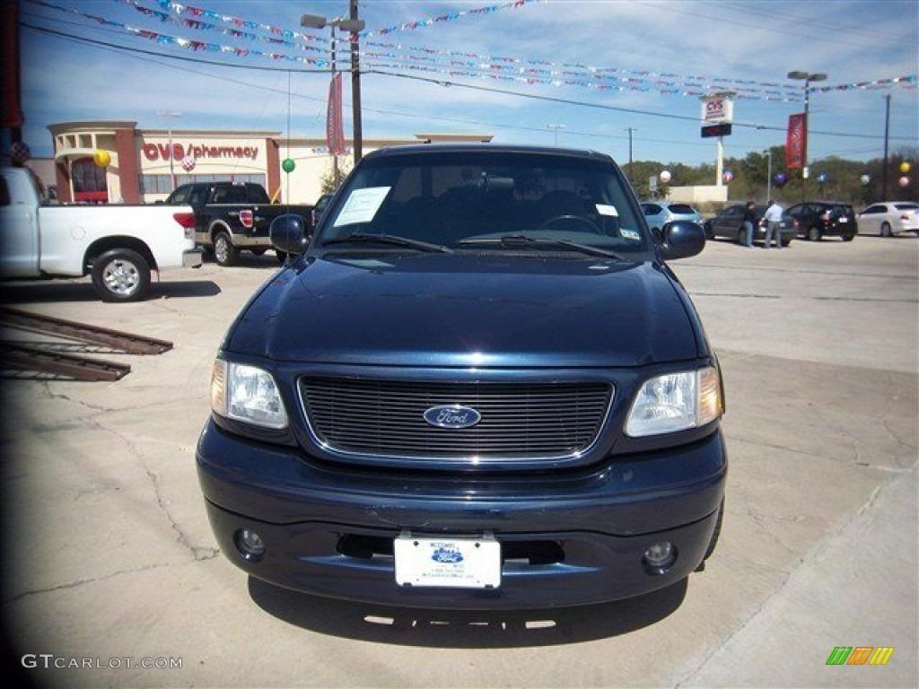 2003 true blue metallic ford f150 stx regular cab 77761606 photo 2 car color. Black Bedroom Furniture Sets. Home Design Ideas