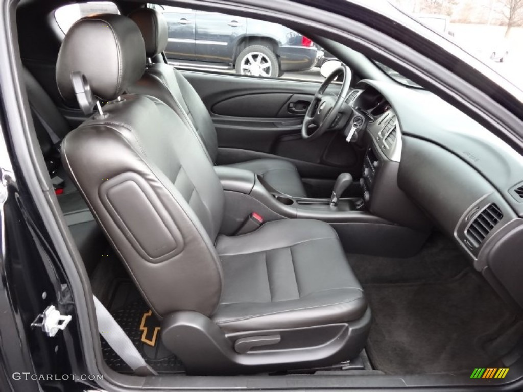 Ebony Black Interior 2007 Chevrolet Monte Carlo Ss Photo 77774321
