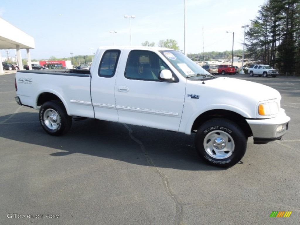 1997 Ford F150 White >> 1997 Oxford White Ford F150 Xlt Extended Cab 4x4 77762038 Photo 3