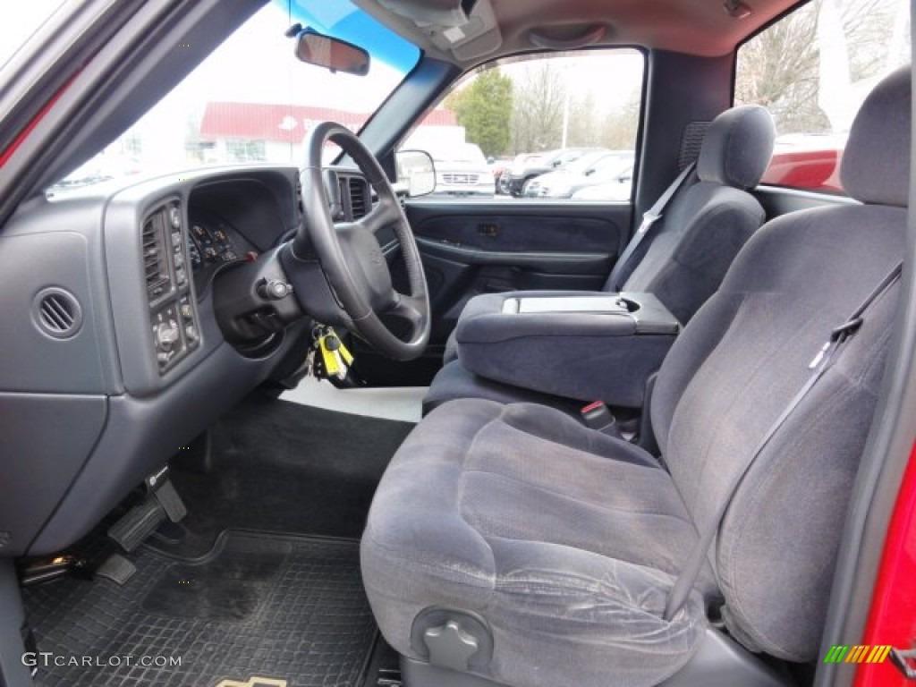 2000 Chevrolet Silverado 1500 Ls Regular Cab 4x4 Interior Color Photos
