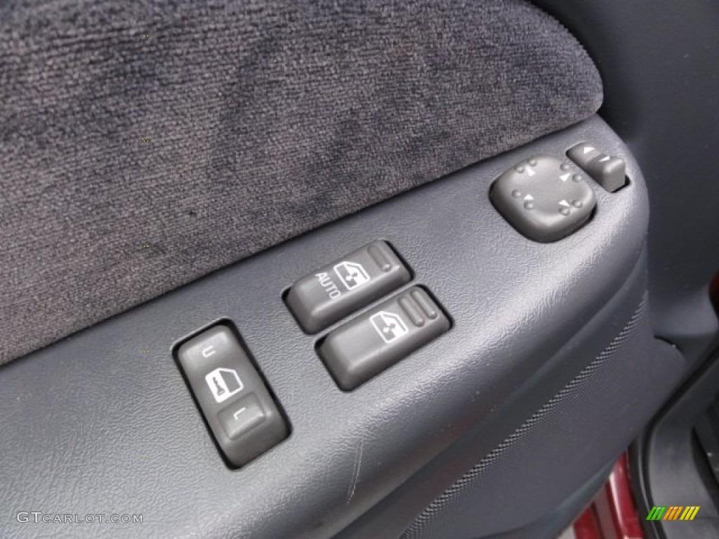 2000 Silverado 1500 LS Regular Cab - Dark Carmine Red Metallic / Graphite photo #10