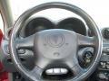 2003 Pontiac Grand Am Dark Pewter Interior Steering Wheel Photo