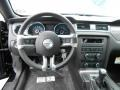 2014 Ford Mustang Charcoal Black Recaro Sport Seats Interior Dashboard Photo