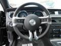 2014 Ford Mustang Charcoal Black Recaro Sport Seats Interior Steering Wheel Photo